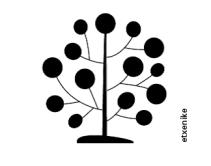 árbol con firma