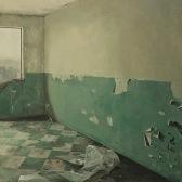 interior en verdes